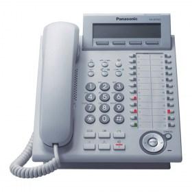 Ψηφιακή τηλεφωνική συσκευή 24 πλήκτρων (Λευκή)
